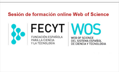 Formación online WOS 2018.