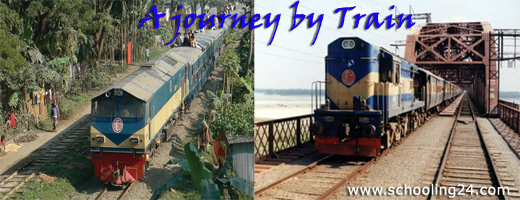 essay on railway journey in english