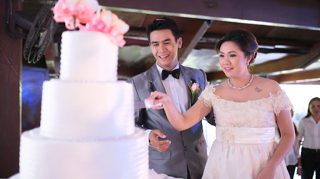 affordable wedding package cebu - simple wedding cake
