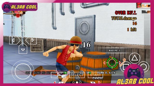 تحميل لعبة ون بيس One Piece 2020 psp للاندرويد ppsspp من ميديا فاير تحميل افضل العاب ppsspp لعبة ون بيس نسخة للأندروید بحجم صغير جداً مجانية برابط واحد على ميديا فاير .تحميل وتشغيل لعبة One Piece 2020 نسخة للأندروید مضغوطة بحجم صغير جداً