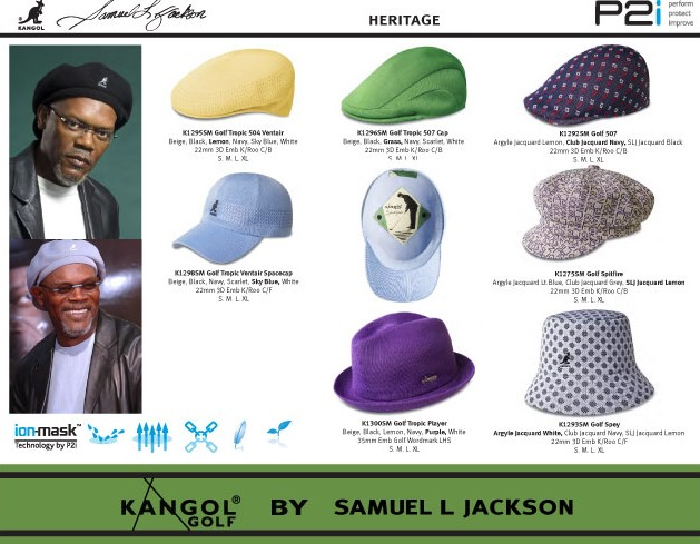 5ec20cde423 Golf Spelled Backwards   Samuel L. Jackson s Kangol Is the One that ...