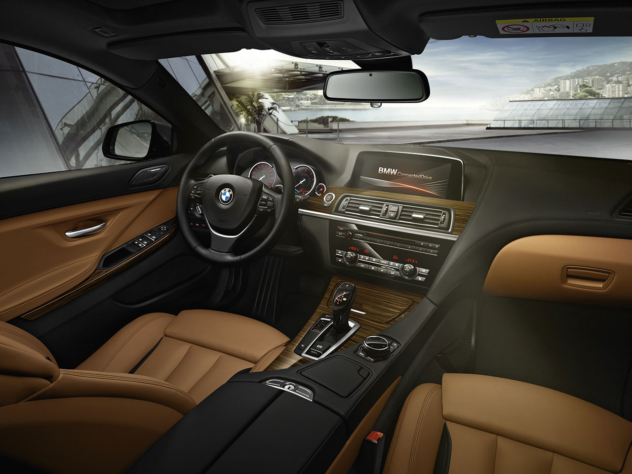 BMW 6 Series interior