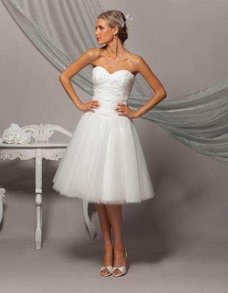 vestidos de novia cortos y bonitos
