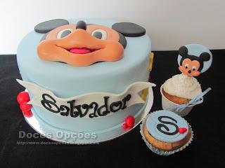 bolo cupcakes mickey doces opções
