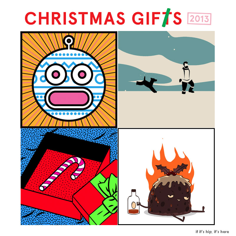 animated christmas gifs by various artists bring the holiday to life