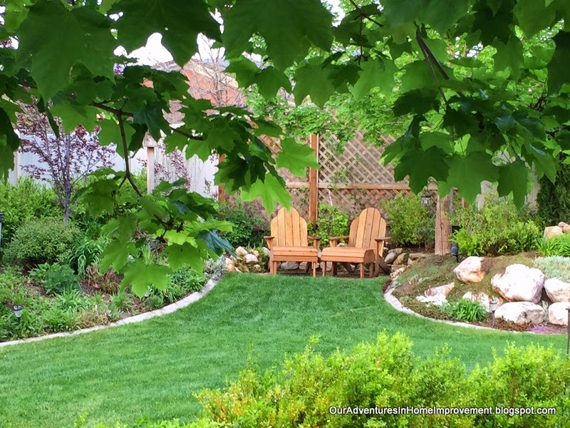 Our Adventures in Home Improvement: Shady Spots for Summer