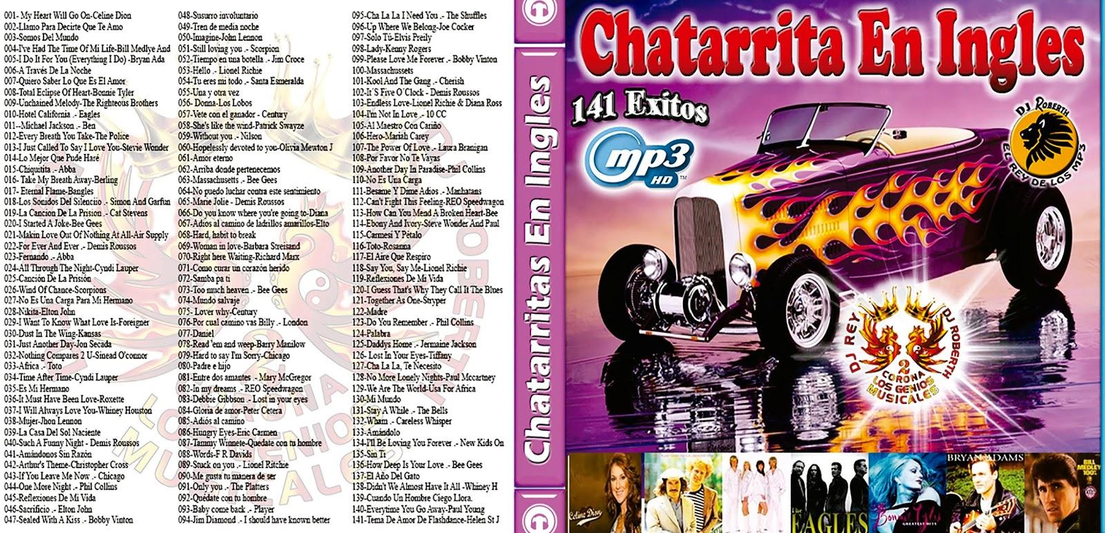 Chatarritas en Ingles