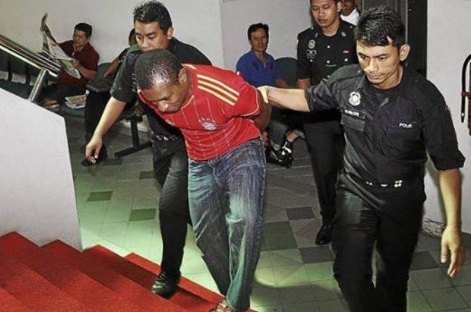 Image result for Nigerians arrested in Malaysia
