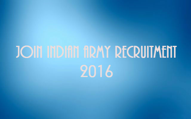 Join-Indian-Army-Recruitment-2016