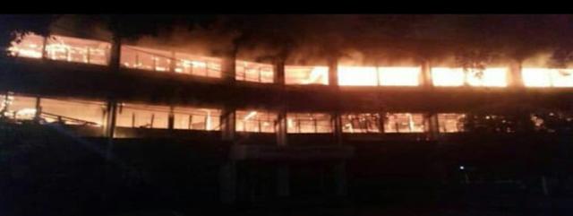 Kampus Undar Jombang Alami Kebakaran Yang Dahsyat