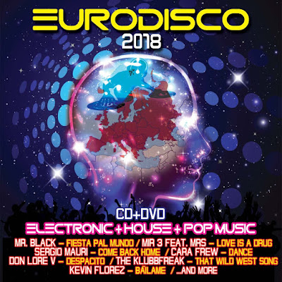 Eurodisco 2018 Electronic House Pop Music 2018 DVD R1 NTSC