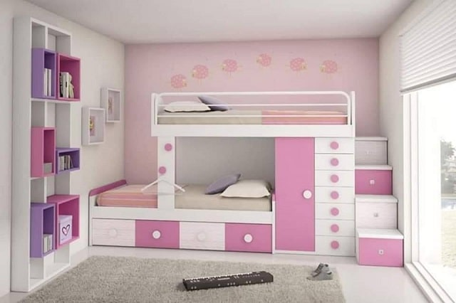 أفكار وتصاميم ديكورات غرف نوم أطفال