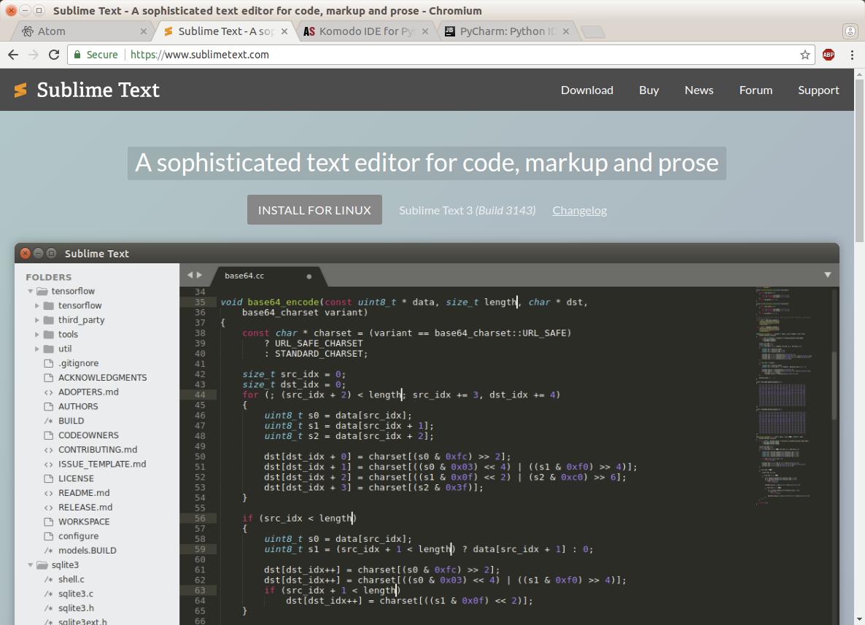 Magnus K Karlsson: Text Editor and IDE for Python