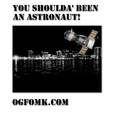 Alex Nuttall, title: You Shoulda' Been an Astronaut!, Original Date: 19970216 – © Alex Nuttall / OgFOMK ArTS 1997 – 2018 – Retro-published 20180118.