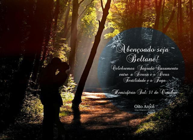 31 de outubro : Dia das Bruxas Beltane