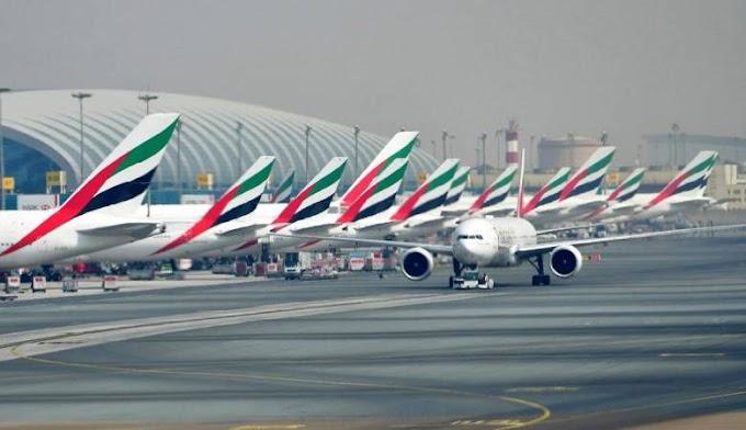 Xuutiyiinta oo diyaarad aan duuliye lahayn ku duqeysay garoonka diyaaradaha Dubai