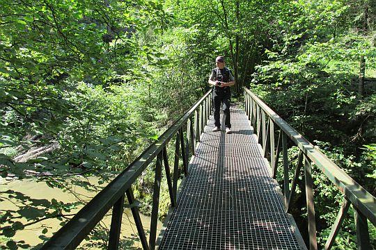 Mostek nad Wąwozem (słow. Mostík nad Úžinou).
