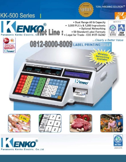 Timbangan Digital dari Kenko Panasonic Electric
