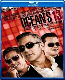 Ocean's Thirteen (2007) BRRip 480p 300mb Dual Audio ( Hindi-English ) MKV