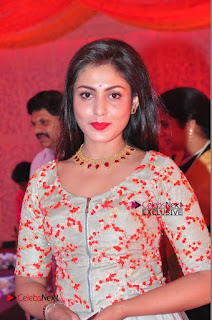 Actress Madhu Shalini Exclusive Stills in Party Dress at Vijay Karan Aashna Wedding  0004.JPG