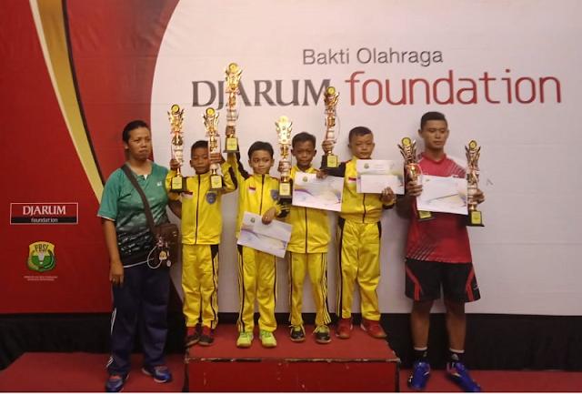 Dua Atlet Bulutangkis Junior Kebumen Sabet Juara Kedu