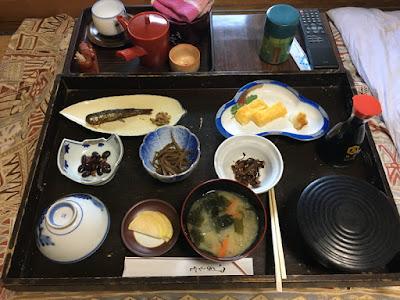 松屋旅館の朝食