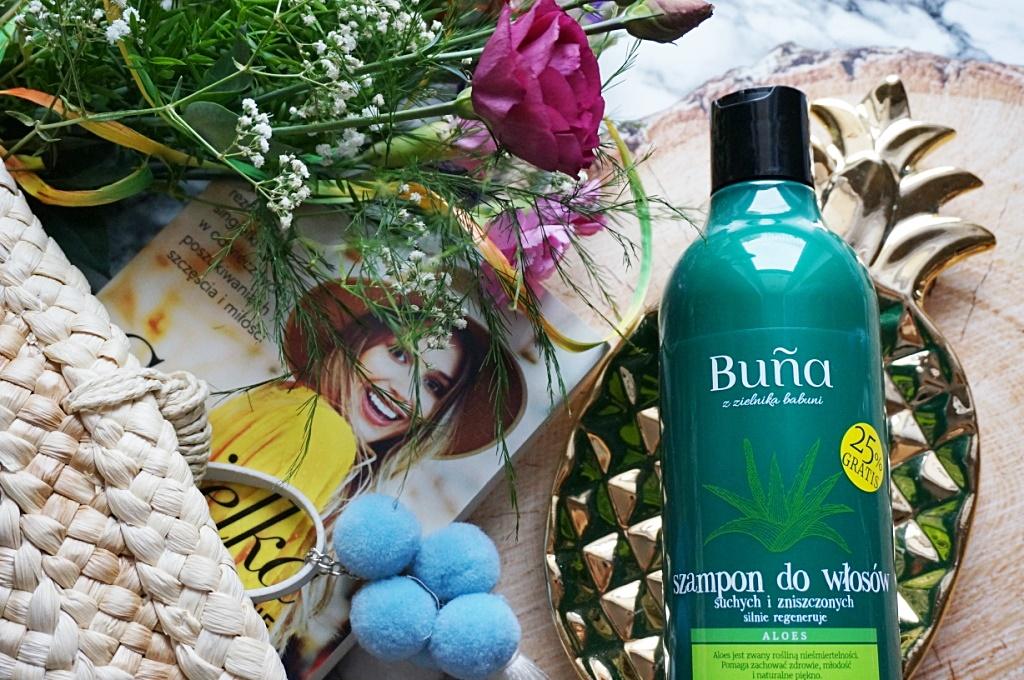 Buna szampon do włosów suchych i zniszczonych