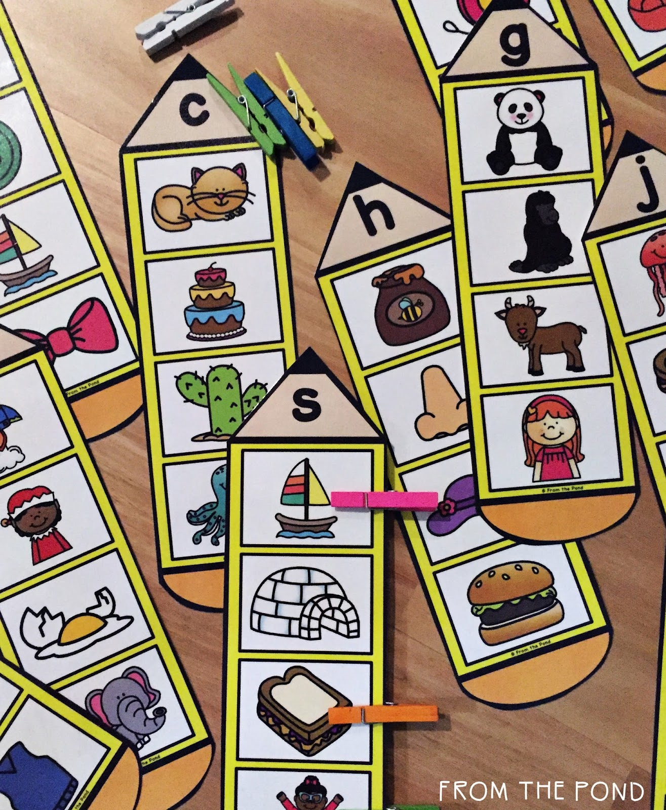 Beginning Sound Activity Cards