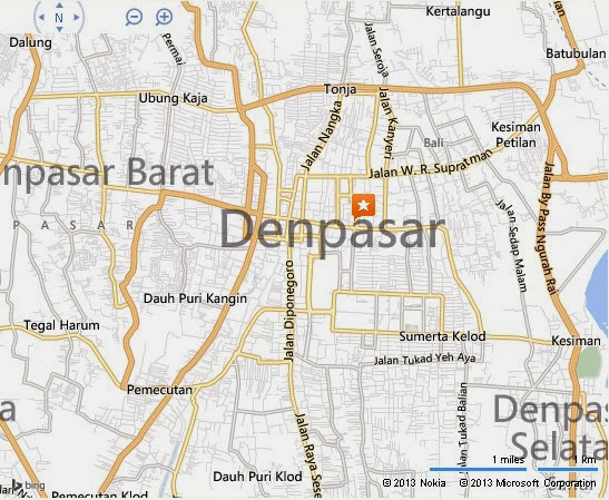 Kereneng Market or Pasar Kereneng Bali Location Map,Location Map of Kereneng Market or Pasar Kereneng Bali,Kereneng Market or Pasar Kereneng Bali accommodation destinations attractions hotels map reviews photos pictures,Denpasar Market,Pasar Kereneng Night Market,Pasar Kreneng map