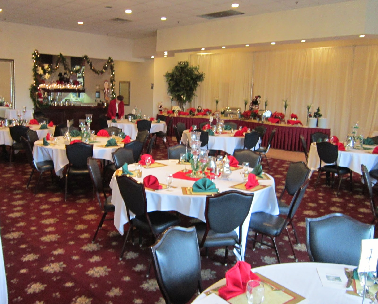 Church Banquet Tables And Chairs Swivel Chair Jiji Relevant Tea Leaf An Angel Themed Christmas