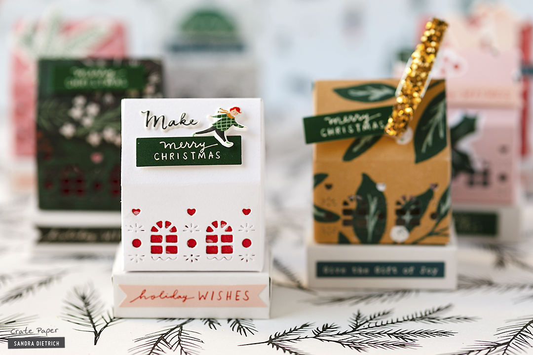 Crate Paper | Xmas Decorative Houses | Merry Days Collection