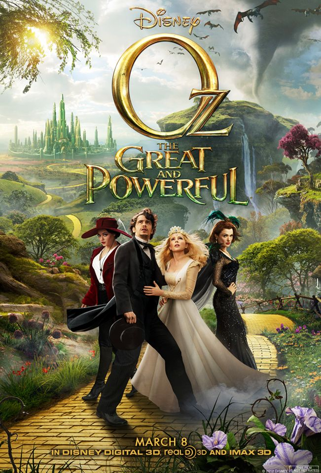 Oz The Great And Powerful 2013 Full Movie In Hindi 720p Bluray 958MB Download