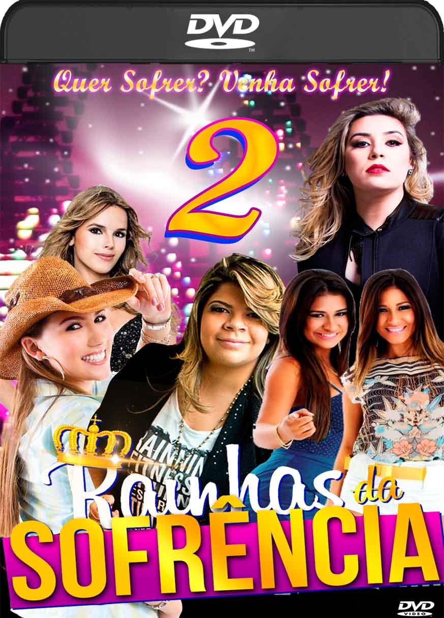 Rainhas da Sofrência Vol. 2 (2017) DVD-R Autorado