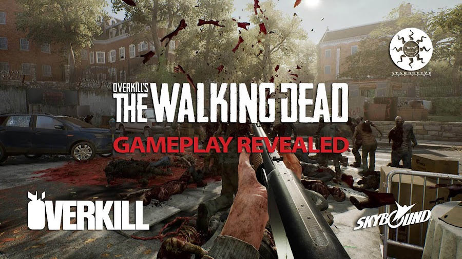 overkills the walking dead gameplay reveal