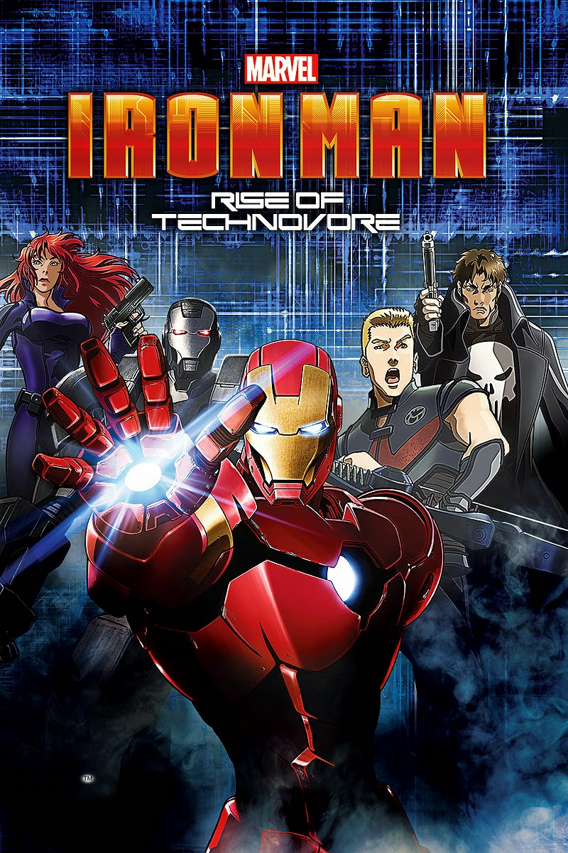 Iron Man: Rise of Technovore 2013