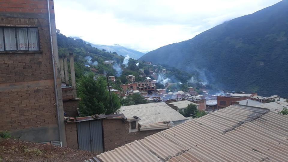 Poblaciones de La Asunta y La Calzada fueron intervenidas la pasada semana / FM BOLIVIA