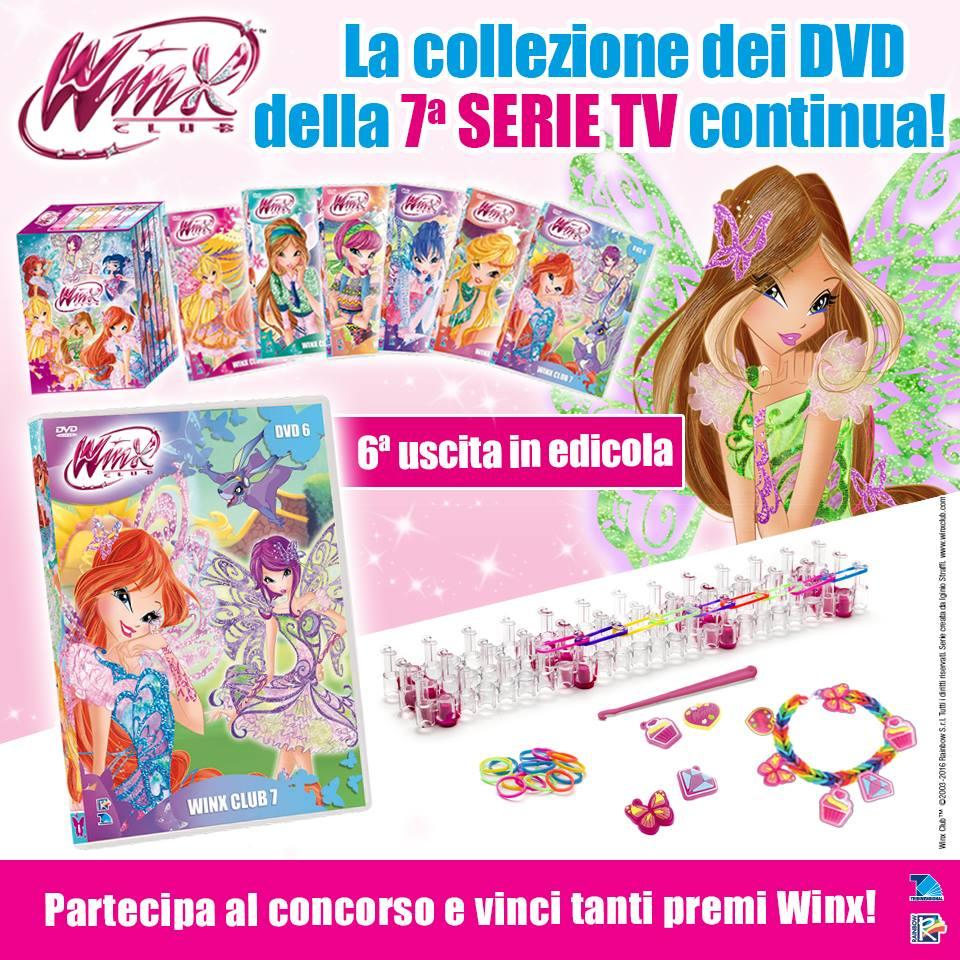 6th DVD Winx Club Season 7 in Italy! - Winx Club All