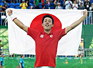 錦織圭選手銅メダル