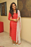 Anusuya in Red at Kalamandir Foundation 7th anniversary Celebrations ~  Actress Galleries 046.JPG
