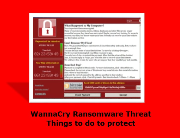 Things to do to protect from WannaCry Ransomware Threat