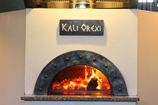 Pathos Organic Greek Kitchen Fireplace