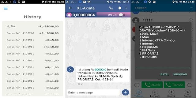 Cara Mendapatkan Pulsa Gratis Rp50.000 dari Aplikasi AyoSlide !