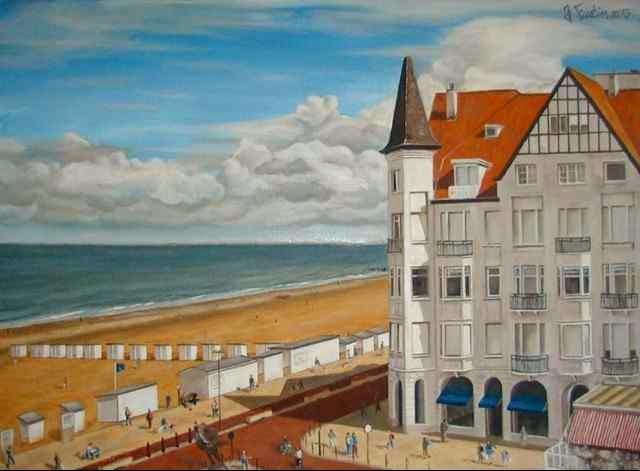 Бельгийский художник. Jonathan Fustin