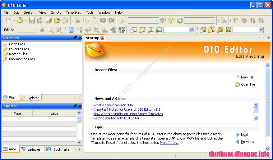 Download SweetScape 010 Editor 9.0.1 Full Cr@ck
