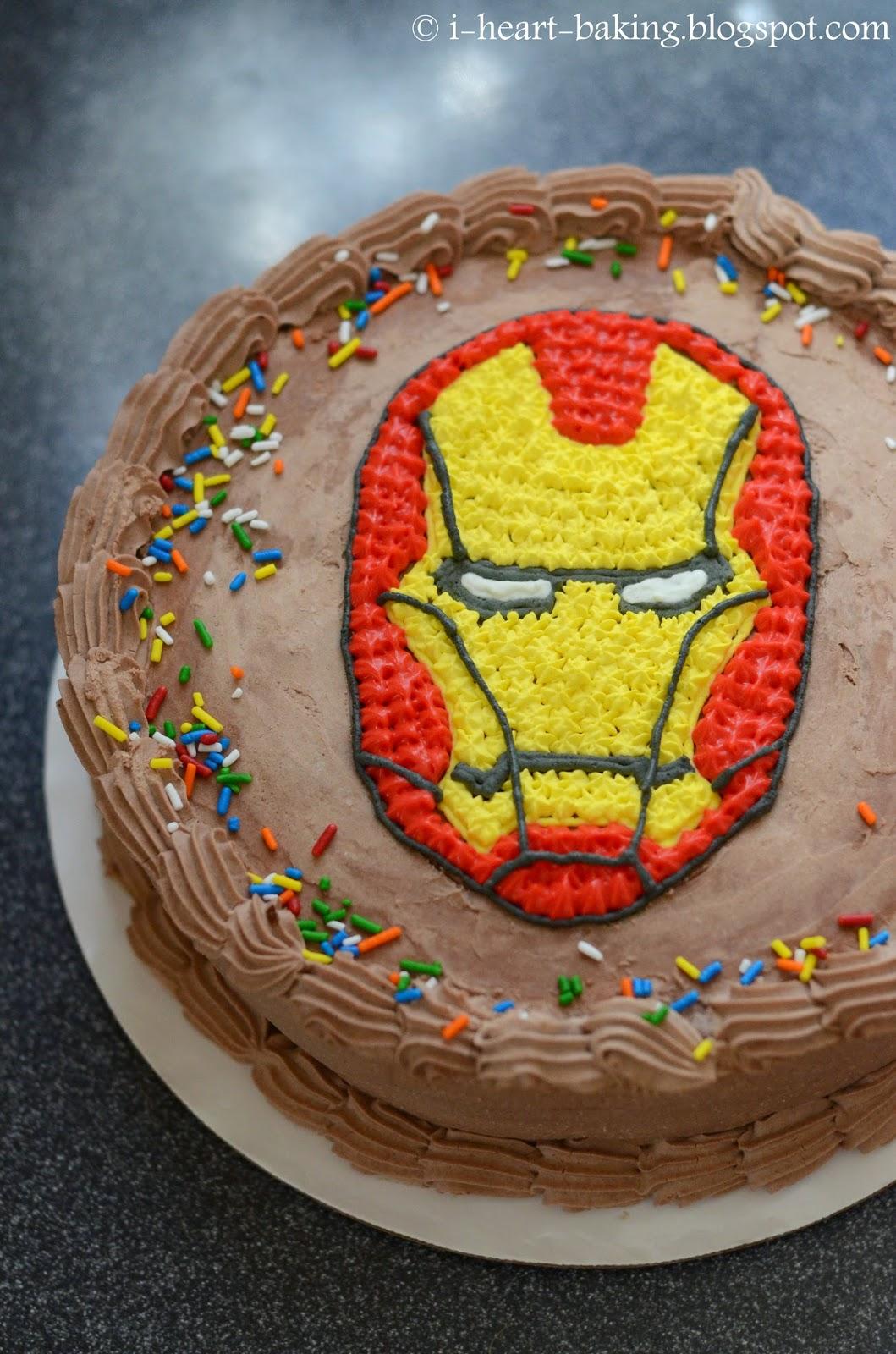 Iron Man Ice Cream
