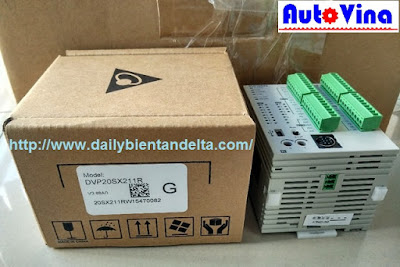 Hướng dẫn lập trình PLC Delta DVP20SX211R, đọc thời gian thực trong PLC Delta DVP-SX2