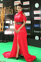 Apoorva in a Stunning Tight Leg Split Sleeveless Red Gown at IIFA Utsavam Awards 60.JPG