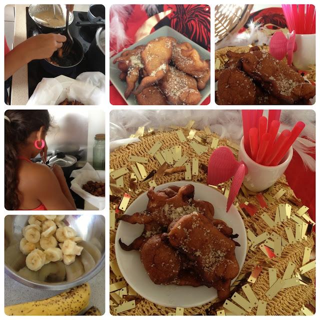 beignets, bananes, carnaval, Martinique, mardi gras, cuisine antillaise,