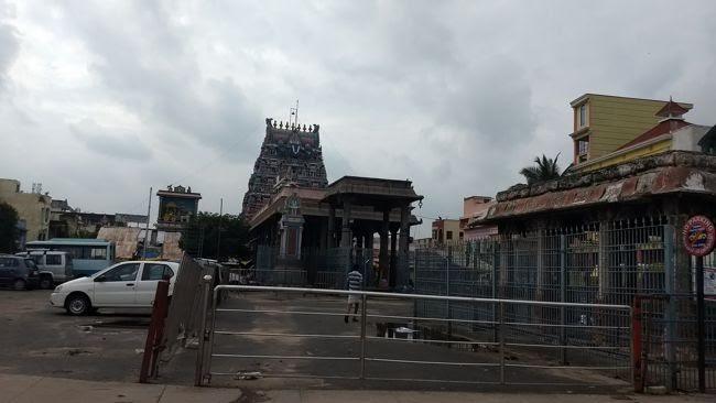 Sri Parthasarathyswamy Temple Main Entrance