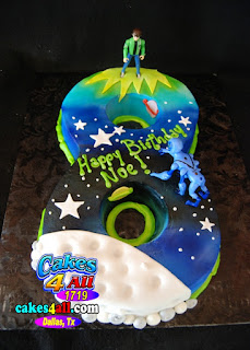 Cakes 4 All In Dallas Ben 10 Number 8 Cut Out Cake Dallas
